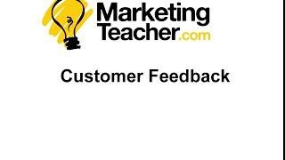Customer Feedback Mp3