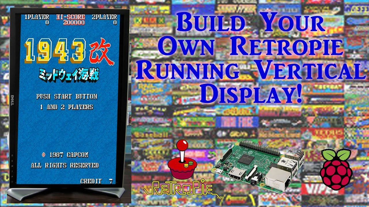 How To Build Your Own Vertical Display RetroPie Image - Arcade Punks