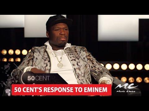 50 Cent Reaction To Eminem BET Cypher For Donald Trump At Hip Hop Awards