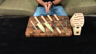 Miyabi Birchwood 7 Piece Knife Set — Review and Information.