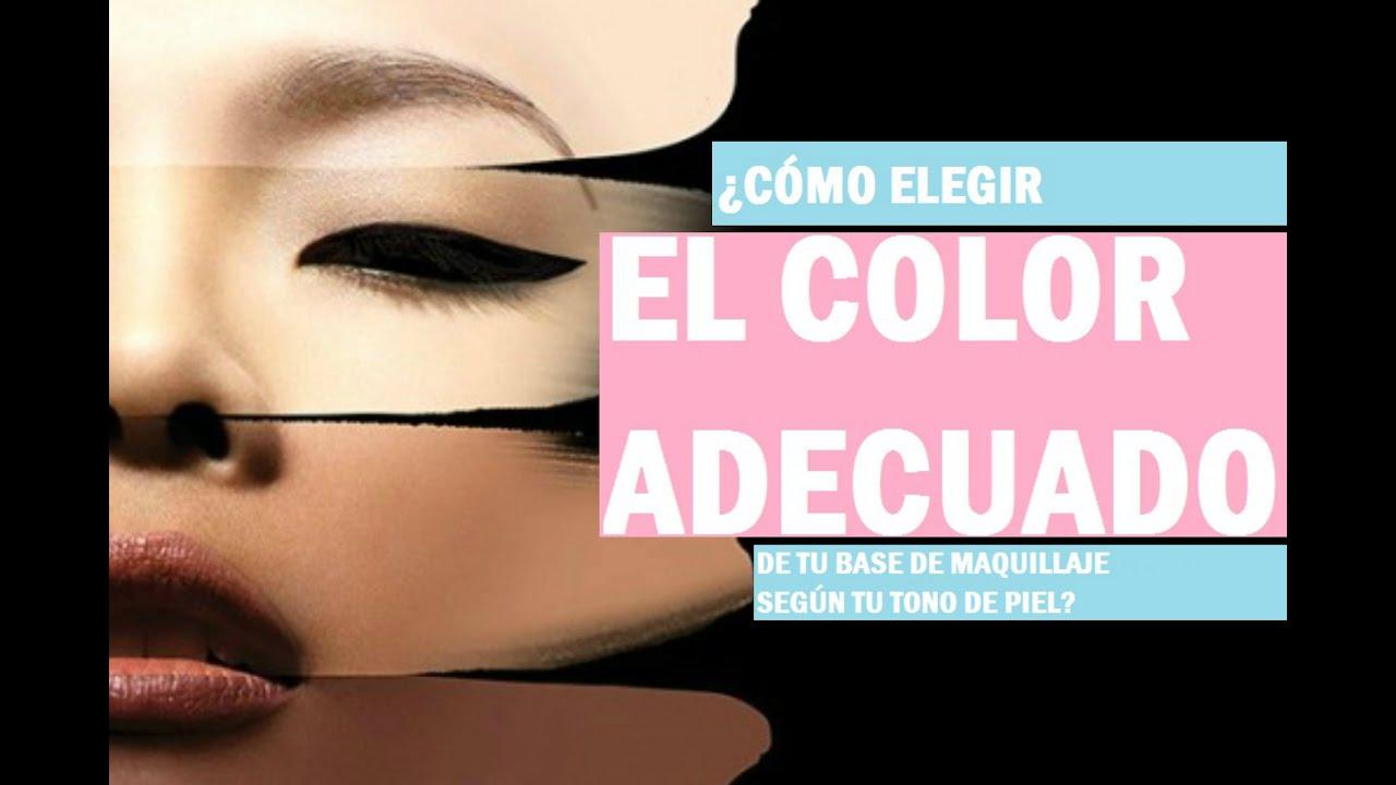 Escoge el tono correcto de la base de maquillaje seg n tu for Que color de fachada elegir