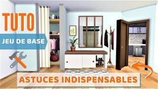 10 ASTUCES INDISPENSABLES JEU DE BASE ! | Les Sims 4