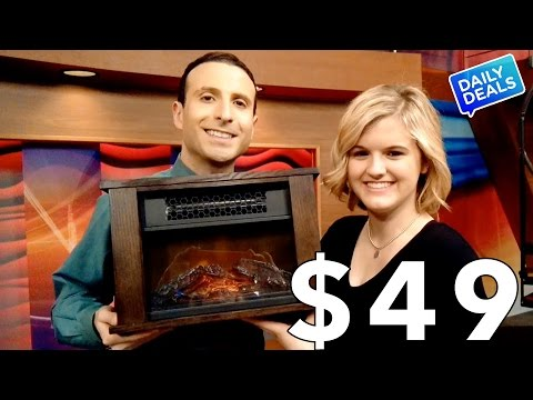 Best Infrared Heater, Electric Fireplace Heater Sale ► The Deal Guy