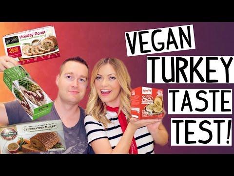 Vegan TURKEY Taste Test!