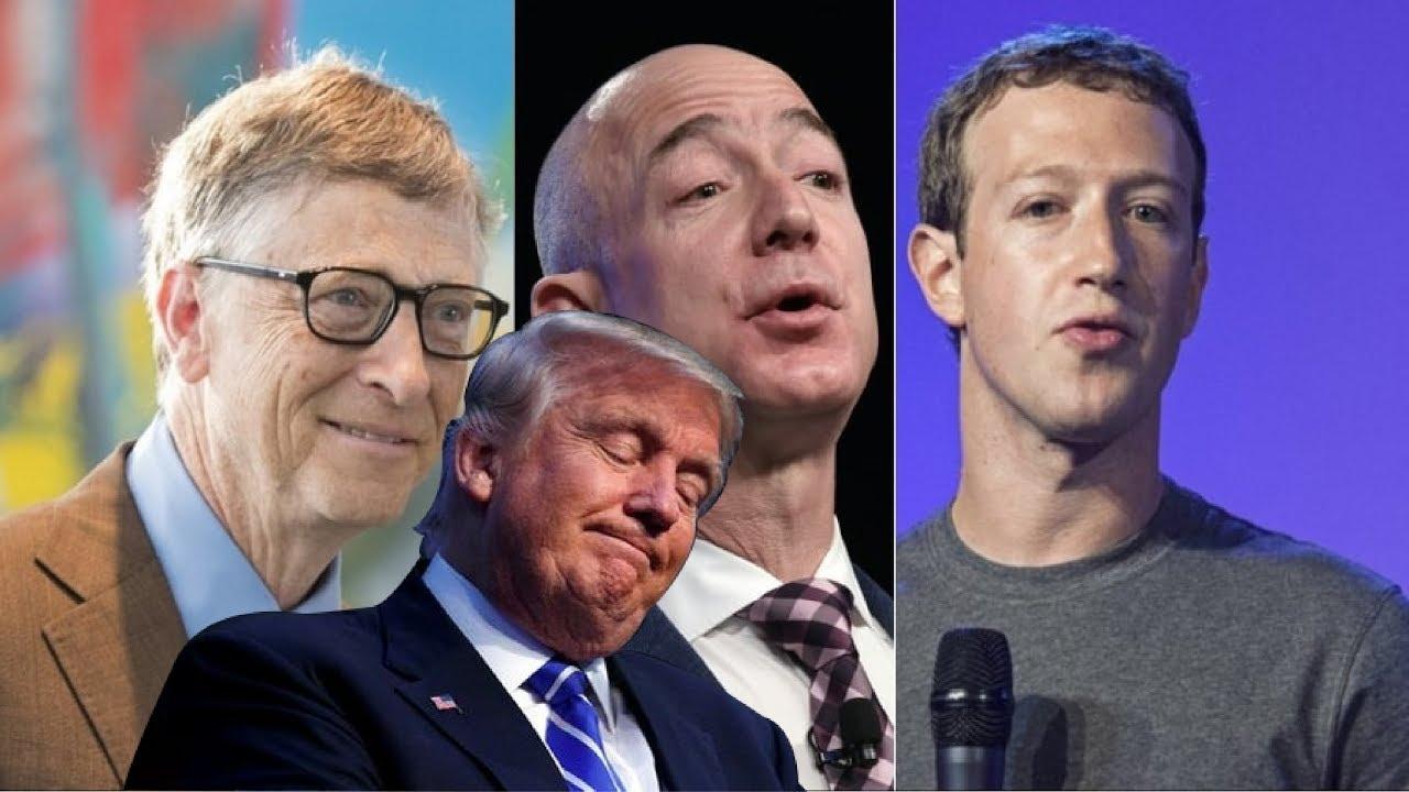Los hombres mas ricos de EEUU, Trump reduce su fortuna - YouTube
