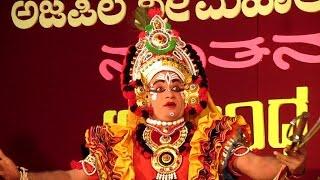 Yaksha Vachika - Abhinaya / 01 - Chandrashekar Dharmasthala as Abhimanyu - Patla