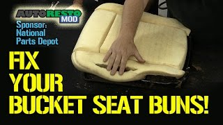 Bucket Seat Covering Tips and Tricks Classic Car Ford Mustang Cougar Episode 186 Autorestomod