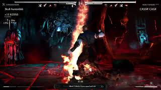 Whats up everybody! Playing [Mortal kombat 10] Uncle vs Niece