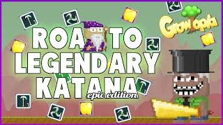 Growtopia - I'm Getting Closer to my Katana WOW!!! Ft. BenBarrage, SweGamerHD