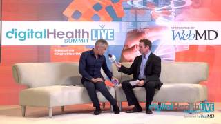 Dominique Grillet, MyBiody Balance at Digital Health LIVE CES WebMD Lounge