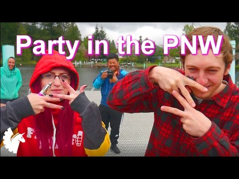 Party on the lake with House Gamers Airsoft (Post MSW party in Lake Samish, WA)