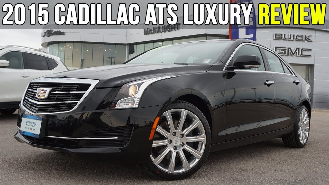 2015 Cadillac Ats Luxury Sedan 2 0t Black Raven In Depth Review
