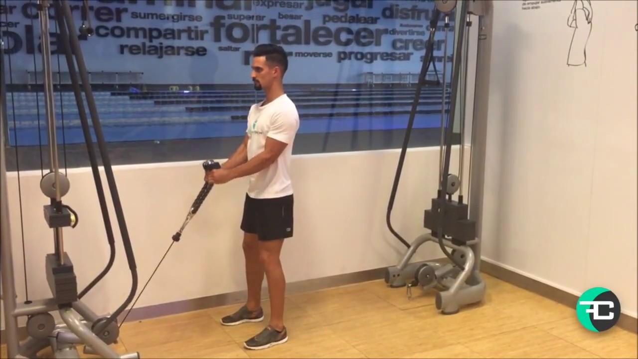CCLIFE Cuerdas de tr/íceps Polea de Triceps con Cuerda Cuerda de traccion musculacion para Triceps