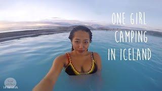 One Girl Camping Around Iceland Ringroad