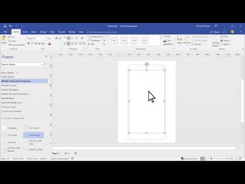 Website and Mobile App Wireframe Visio Templates: Bring your