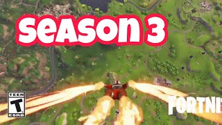 Astronaut Skin Fire effect Fortnite Battle Royale *Season 3*
