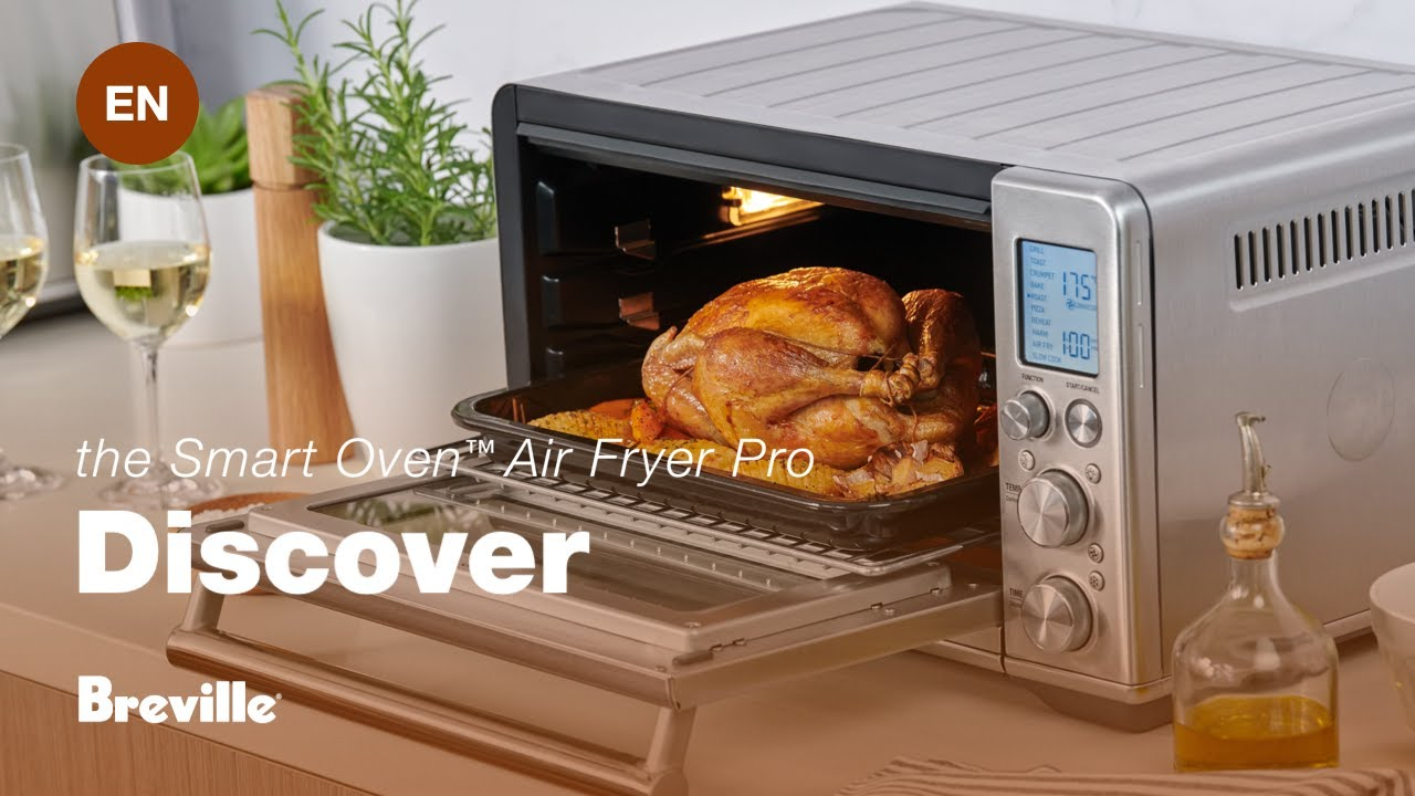 Breville Smart Oven 174 Air With Super Convection And 13