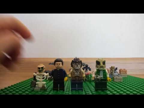 Лего самоделки монстров и ужасы 3 часть