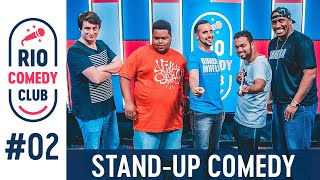 RIO COMEDY CLUB 2 - STAND-UP c/ Marcos Castro, Cego Jeffinho, Felipe Ruggeri, Bira Thomazi, Big Jaum