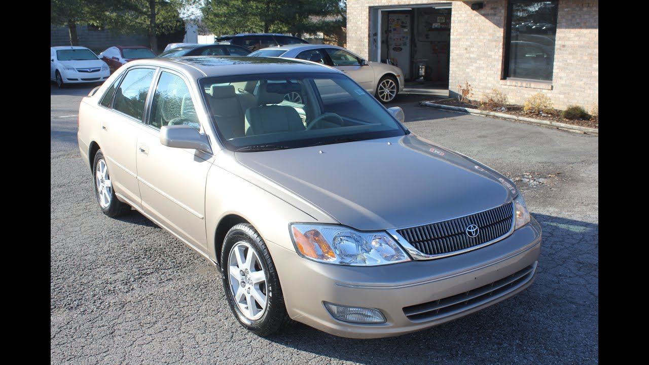 used 2002 toyota avalon xls leather roof for sale georgetown auto sales kentucky sold youtube. Black Bedroom Furniture Sets. Home Design Ideas