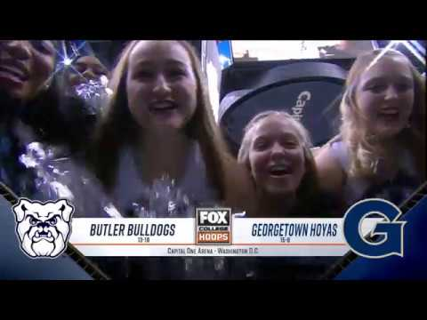Butler at Georgetown Highlights: #BIGEASThoops