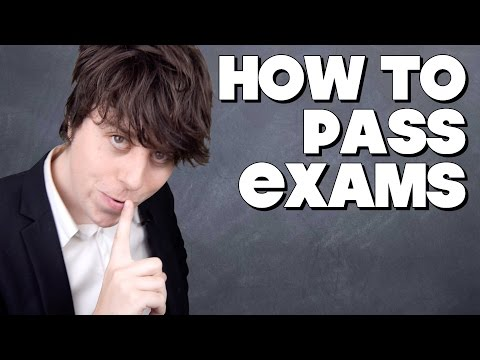 How To Pass Exams!!
