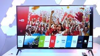 4К телевизор 2018 LG SK7900 smar TV. Отзыв.