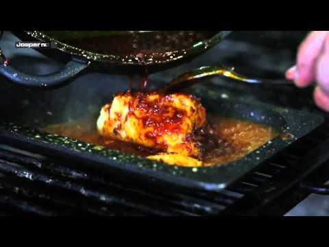 Receta de Bacalao con Samfaina a la brasa / Recipe Cod fish with sanfaina sauce - Josper Grill