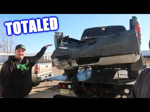 Brent's $600 Truck Got Totaled! (More Progress on the Shop)