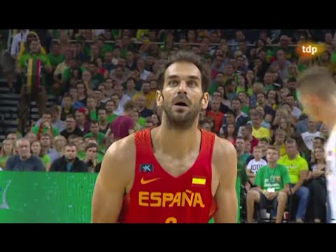 Jose Calderon Highlights Vs Angola/Lituania #RutaÑ16