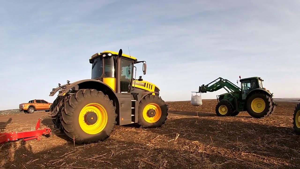 #tractorvlog Horsch focus la noi in ferma !!