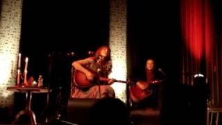Where to start Elin Ruth Sigvardsson med Malin Andersson live i Växjö 26 mars 2009