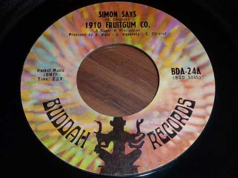 "1910 Fruitgum Company ""Simon Says"" 45rpm"