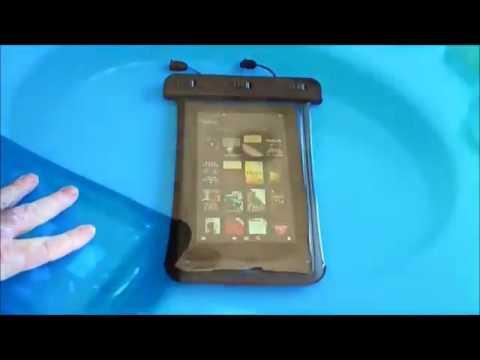 FRIEQ® Waterproof Case for Apple iPad Mini, Kindle Fire Hd 7, Samsung Galaxy
