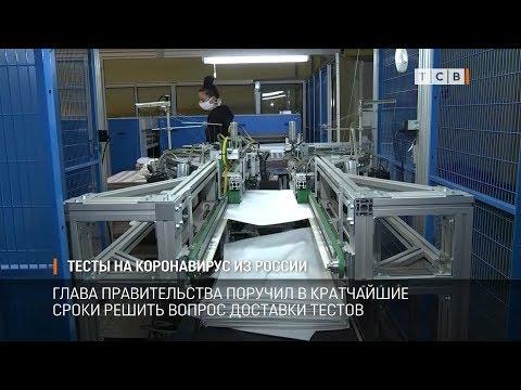 Тесты на коронавирус из России