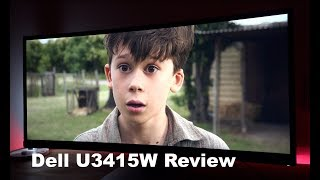 Dell UltraSharp U3415W Curved Ultra-Wide Monitor Review