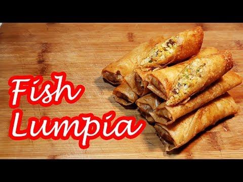 FISH LUMPIA!!!