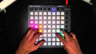 Let's try the Launchpad MkII! - Giulio's Page Live EDM Freestyle