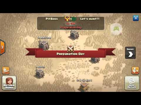 Clash of Clans (Most Extreme Attack)!!!!