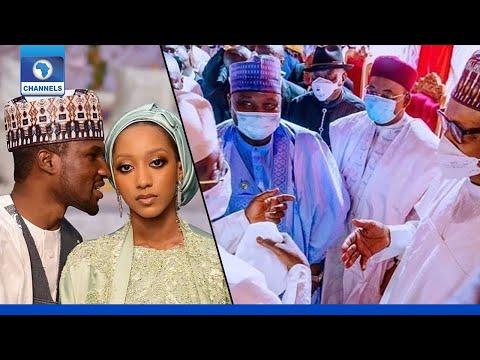 Download Jonathan, Atiku, Governors, Grace Buhari Son's Wedding In Kano