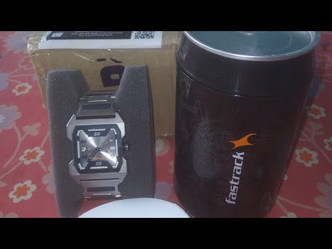 Unboxing Brand New Fastrack 1474sm01 Men Analog Watch