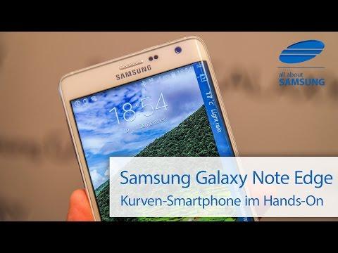 Samsung Galaxy Note Edge SM-N915 Hands On deutsch HD