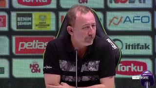 İttifak Holding Konyaspor - Beşiktaş maçının ardından - Sergen Yalçın - KONYA