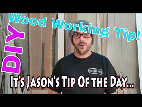 WoodWorking Tip | SAFETY FIRST | #DIY #woodworking