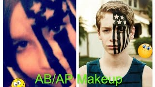 AB/AP Fall Out Boy Makeup- Raggafrida try