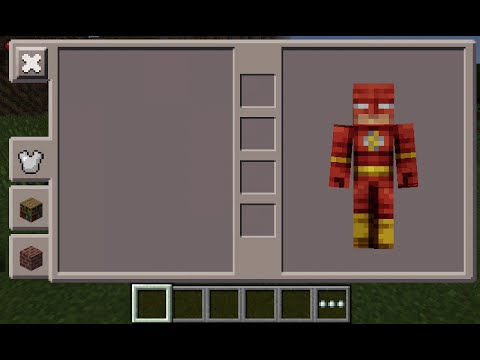 Minecraft PE Flash Skin Costume YouTube - Skin para minecraft de quiksilver
