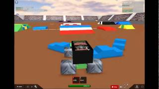 roblox monster jam freestyle *has flips*