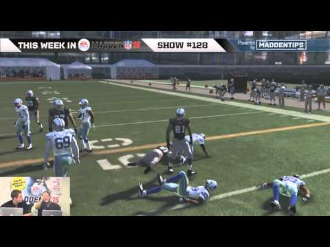Madden 15 Running Tips - How To Cut/Juke?