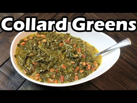 Collard Greens | Best Southern Style Collard Greens With Pork | Chef Lorious