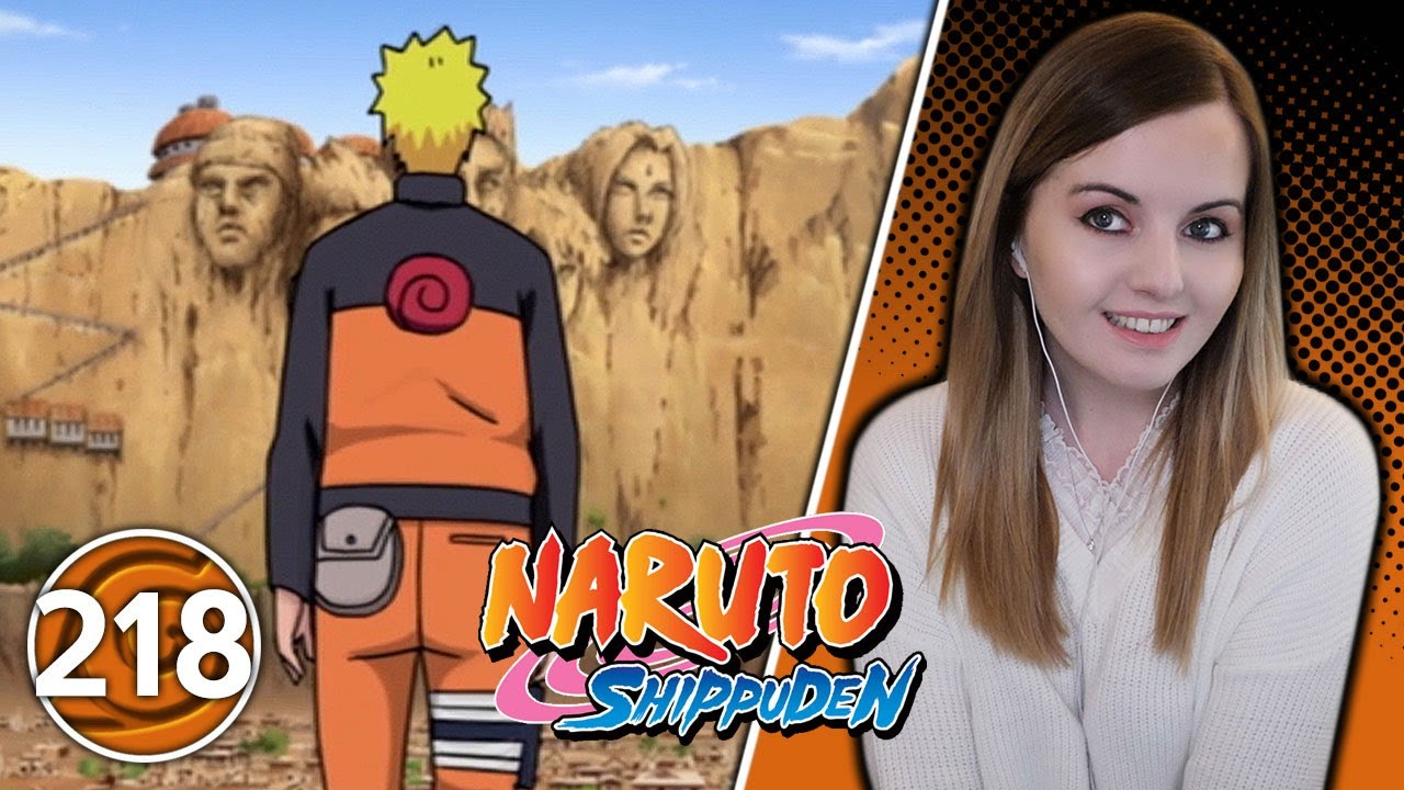 The Five Great Nations Mobilize - Naruto Shippuden Episode 218 Reaction